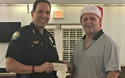 Delray Beach Police Chief accepts donation from SCRRA